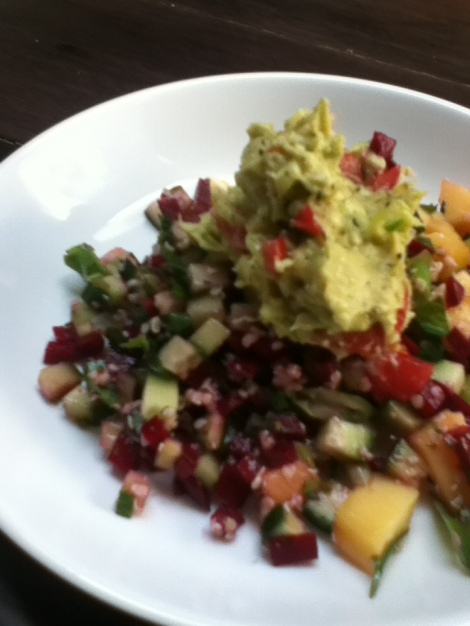 Mango avo salad