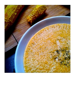 Corn and Coriander Soup